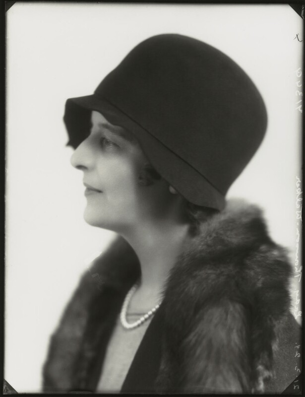 Isabella (née Nairn), Lady Thomson-Walker, by Bassano Ltd, 21 March 1929 - NPG x124485 - © National Portrait Gallery, London