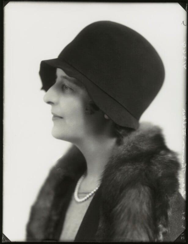 Isabella (née Nairn), Lady Thomson-Walker, by Bassano Ltd, 21 March 1929 - NPG x124485 - © National Portrait Gallery, London