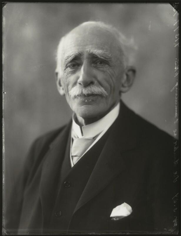 Sir (John) Ambrose Fleming, by Bassano Ltd, 25 March 1929 - NPG x124487 - © National Portrait Gallery, London