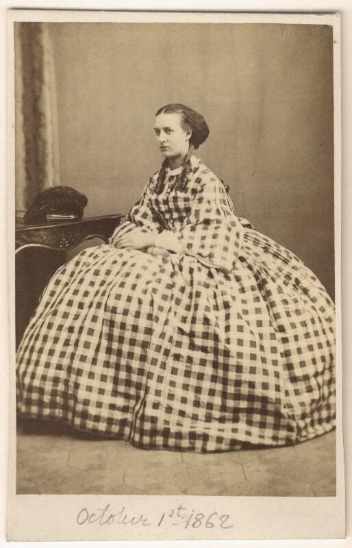Queen Alexandra, by E. Lange, 3 June 1861 - NPG Ax24176 - © National Portrait Gallery, London