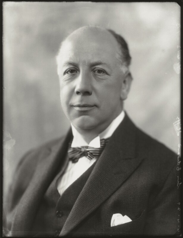 Edward Mauger Iliffe, 1st Baron Iliffe, by Bassano Ltd, 4 April 1929 - NPG x124496 - © National Portrait Gallery, London