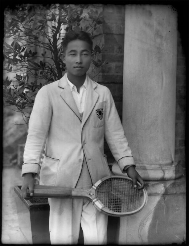 Yoshiro Ohta, by Bassano Ltd, April 1929 - NPG x124527 - © National Portrait Gallery, London