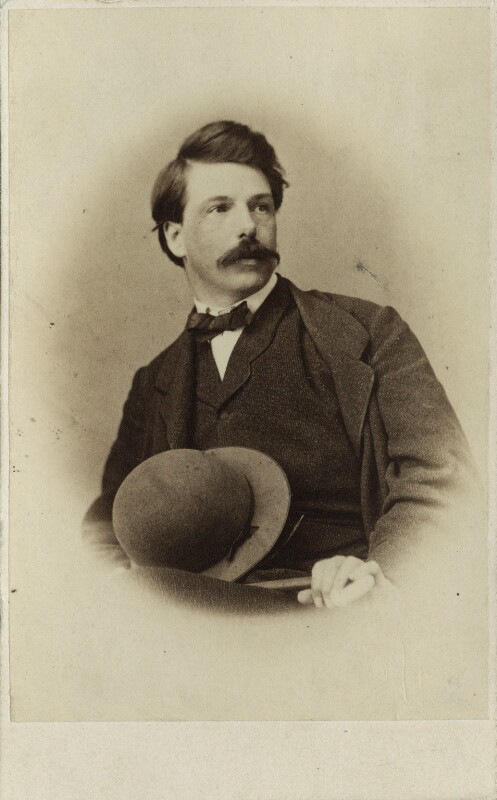 Oswald Achenbach, by Unknown photographer, 1860s - NPG Ax17202 - © National Portrait Gallery, London