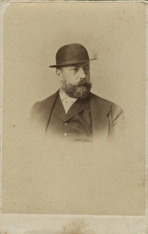 Andreas Achenbach, by Unknown photographer, 1860s - NPG Ax17204 - © National Portrait Gallery, London
