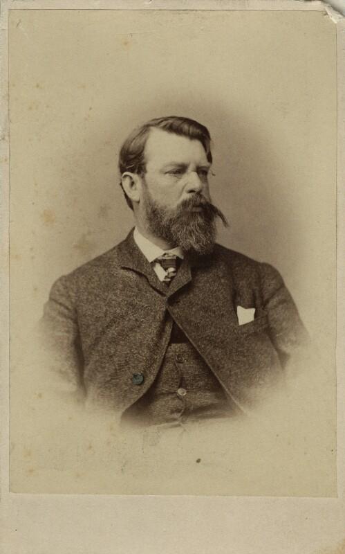 Emanuel Gottlieb Leutze, by Unknown photographer, 1860s - NPG Ax17206 - © National Portrait Gallery, London
