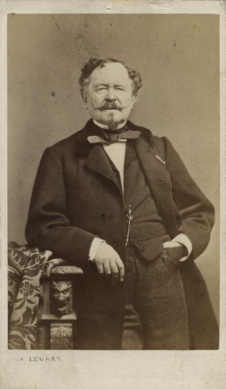 Carl Frederik Kiorboe, by A. Legras, 1860s - NPG Ax17209 - © National Portrait Gallery, London