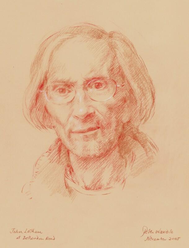 John Aubrey Clarendon Latham, by Peter Wardle, 2005 - NPG 6763 - © National Portrait Gallery, London