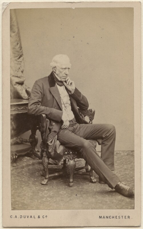 Sir William Fairbairn, 1st Bt, by C.A. Duval & Co (Charles Allen Du Val), 1860s - NPG Ax16266 - © National Portrait Gallery, London