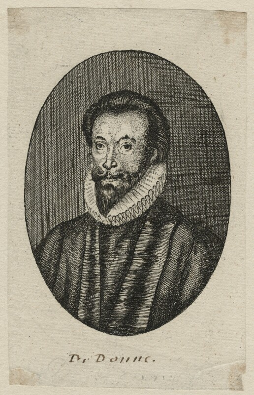 John Donne, after Isaac Oliver, 17th century - NPG D21407 - © National Portrait Gallery, London