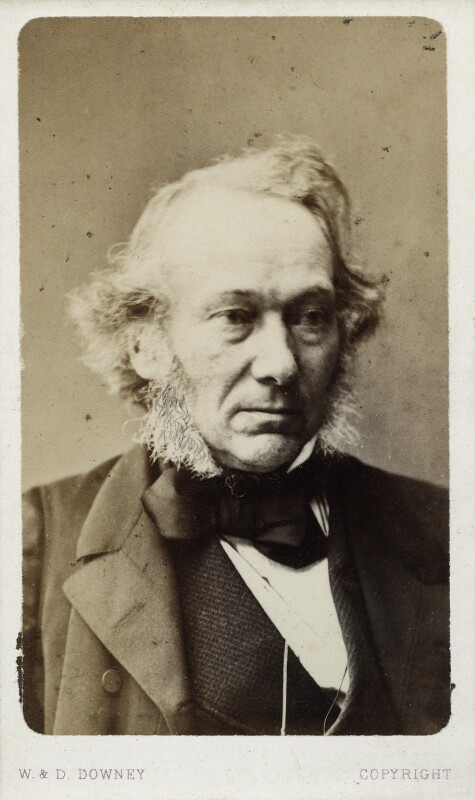 Richard Cobden, by W. & D. Downey, circa 1863 - NPG Ax17735 - © National Portrait Gallery, London
