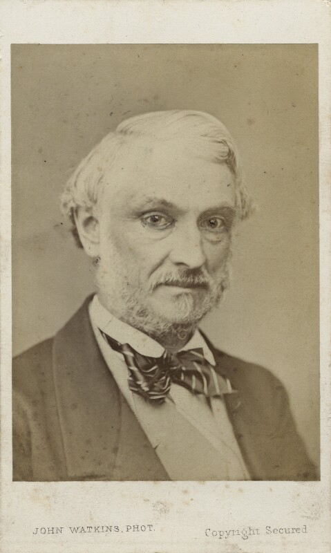 John James Robert Manners, 7th Duke of Rutland, by John Watkins, 1860s - NPG Ax17742 - © National Portrait Gallery, London
