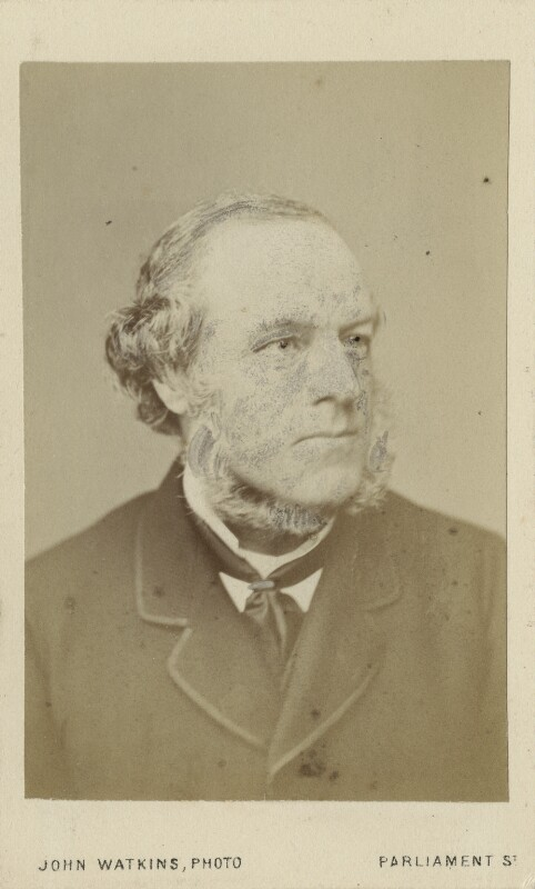 Henry Austin Bruce, 1st Baron Aberdare, by John Watkins, 1870 or before - NPG Ax17754 - © National Portrait Gallery, London