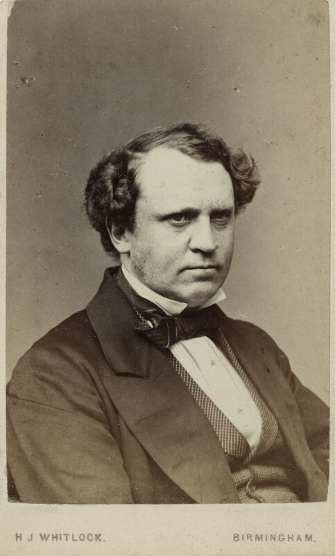 Edward Henry Stanley, 15th Earl of Derby, by Henry Joseph Whitlock, circa late 1860s - NPG Ax17762 - © National Portrait Gallery, London
