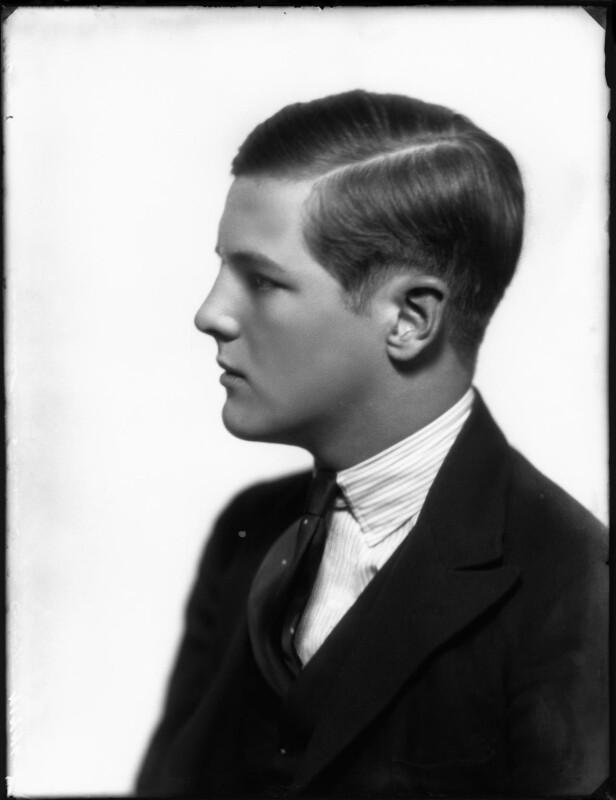 Randolph Frederick Edward Spencer Churchill, by Bassano Ltd, 25 June 1929 - NPG x124631 - © National Portrait Gallery, London