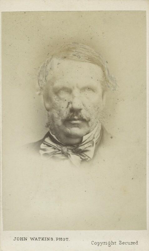 John Laird Mair Lawrence, 1st Baron Lawrence, by John Watkins, or by  John & Charles Watkins, 1860s - NPG Ax17764 - © National Portrait Gallery, London