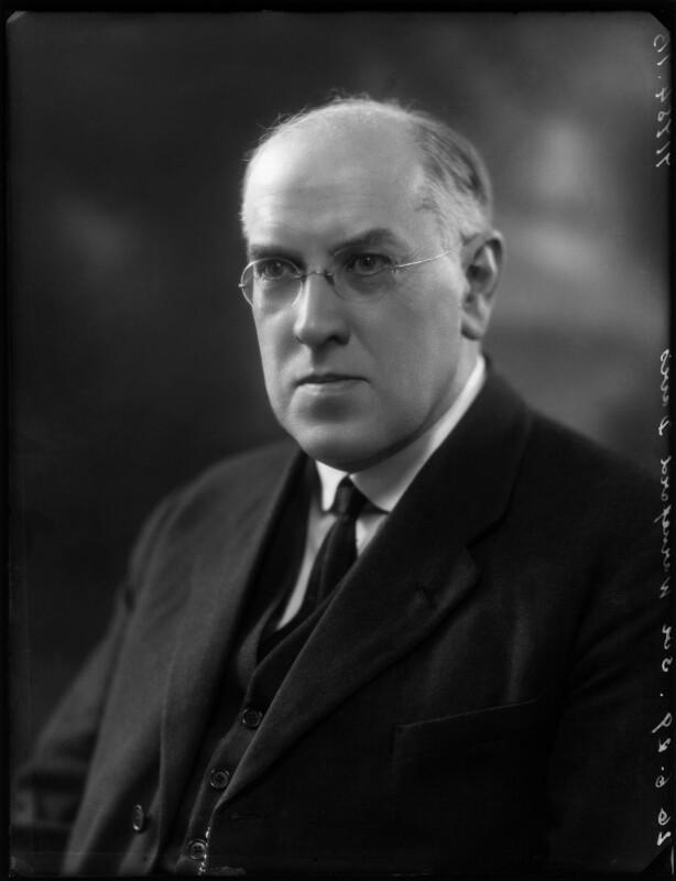 Sir (Henry) Walford Davies, by Bassano Ltd, 26 June 1929 - NPG x124636 - © National Portrait Gallery, London