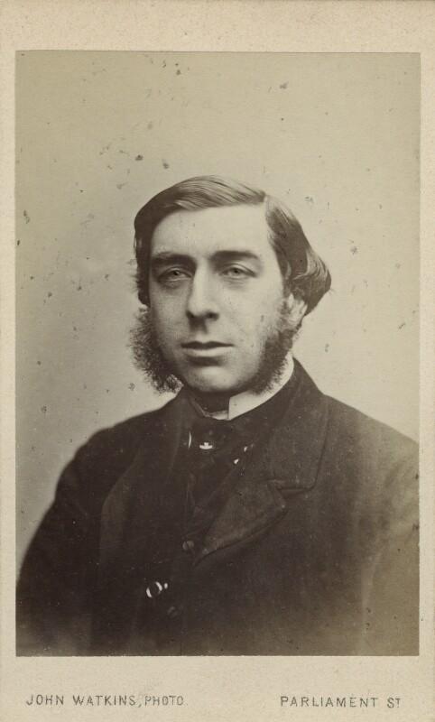 George Joachim Goschen, 1st Viscount Goschen, by John Watkins, or by  John & Charles Watkins, circa 1868 - NPG Ax17768 - © National Portrait Gallery, London