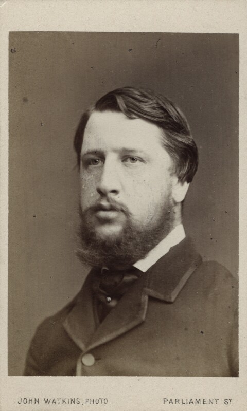 Spencer Compton Cavendish, 8th Duke of Devonshire, by John Watkins, 1860s - NPG Ax17769 - © National Portrait Gallery, London