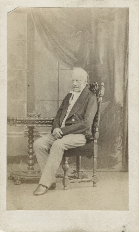 Henry Petty-Fitzmaurice, 3rd Marquess of Lansdowne, by Caldesi, Blanford & Co, early 1860s - NPG Ax17789 - © National Portrait Gallery, London