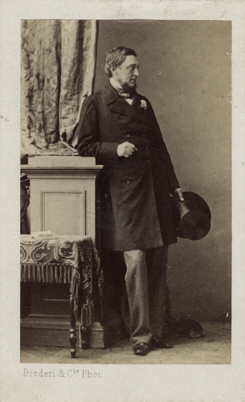 Sidney Herbert, 1st Baron Herbert of Lea, by Disdéri, 1860s - NPG Ax17790 - © National Portrait Gallery, London
