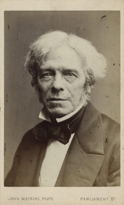 Michael Faraday, by John Watkins, 1860s - NPG Ax17794 - © National Portrait Gallery, London