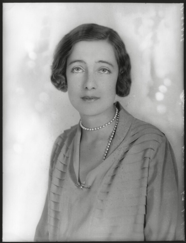 Edith Constance Annesley (née Rawlinson), Countess Annesley, by Bassano Ltd, 19 July 1929 - NPG x124681 - © National Portrait Gallery, London