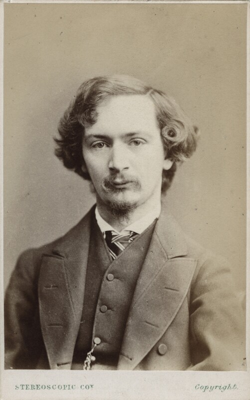 Algernon Charles Swinburne, by London Stereoscopic & Photographic Company, circa 1865 - NPG Ax17804 - © National Portrait Gallery, London