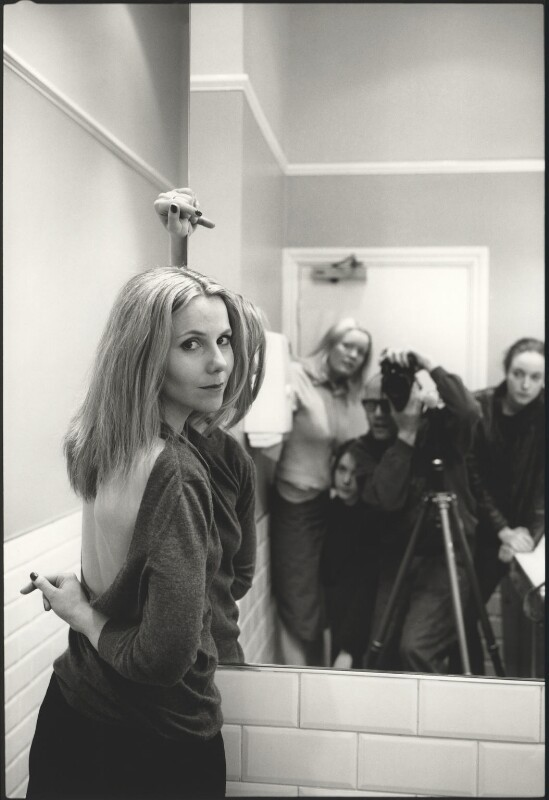 Sally Phillips; Harry Borden; Jessica Casson and stylist, by Harry Borden, 1 March 2001 - NPG x128144 - © Harry Borden