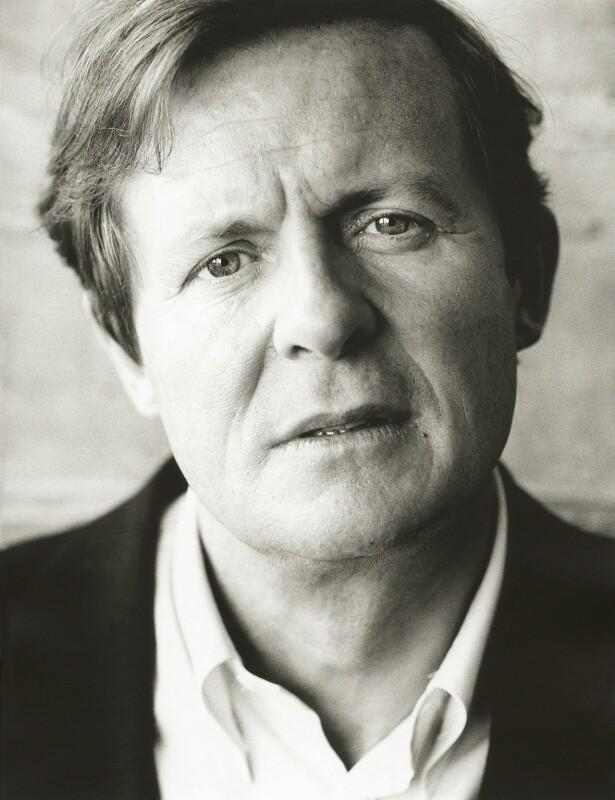 Sir David Hare, by Harry Borden, 10 July 1997 - NPG x128151 - © Harry Borden