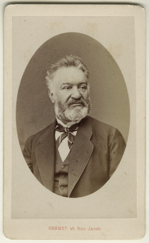 Louis Veuillot, by Hermet, 1860s - NPG Ax17830 - © National Portrait Gallery, London