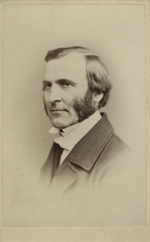 Frederick Temple, by Henry Joseph Whitlock, circa 1867 - NPG Ax17841 - © National Portrait Gallery, London