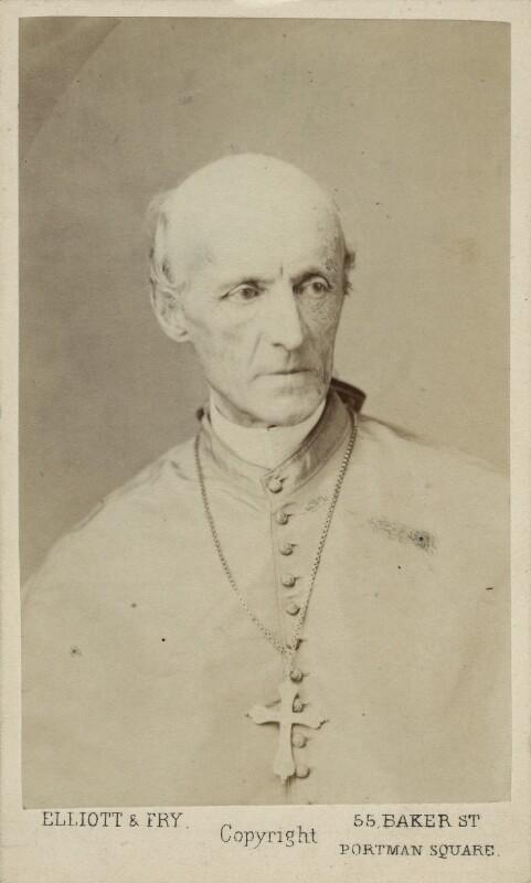 Henry Edward Manning, by Elliott & Fry, 1870 - NPG Ax17842 - © National Portrait Gallery, London