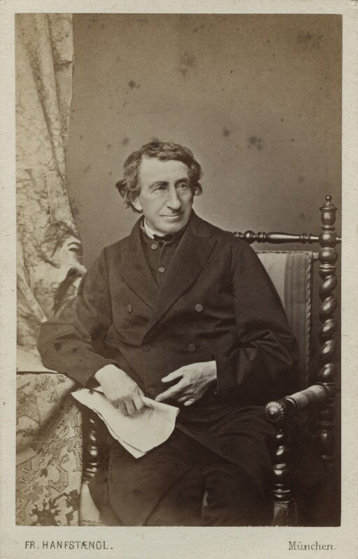 Johann Joseph Ignaz von Döllinger, by Franz Hanfstaengl, 1860s - NPG Ax17843 - © National Portrait Gallery, London