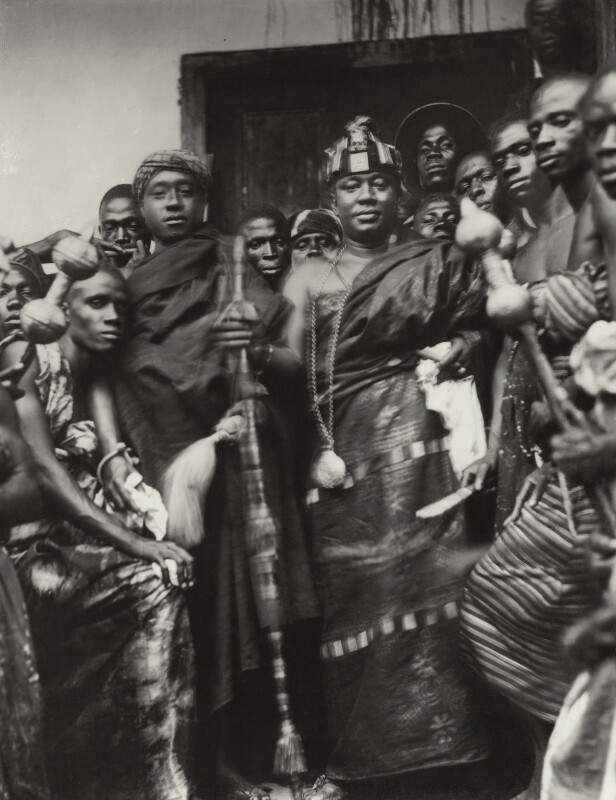 Nana Sir Ofori Atta and others, by Bassano Ltd, after  Unknown photographer, 5 September 1929 - NPG x124741 - © National Portrait Gallery, London