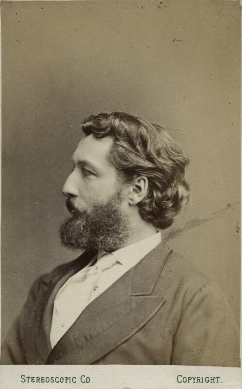 Frederic Leighton, Baron Leighton, by London Stereoscopic & Photographic Company, 1860s - NPG Ax17856 - © National Portrait Gallery, London