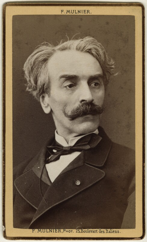 Jean-Léon Gérôme, by Ferdinand Mulnier, late 1870s - NPG Ax17864 - © National Portrait Gallery, London
