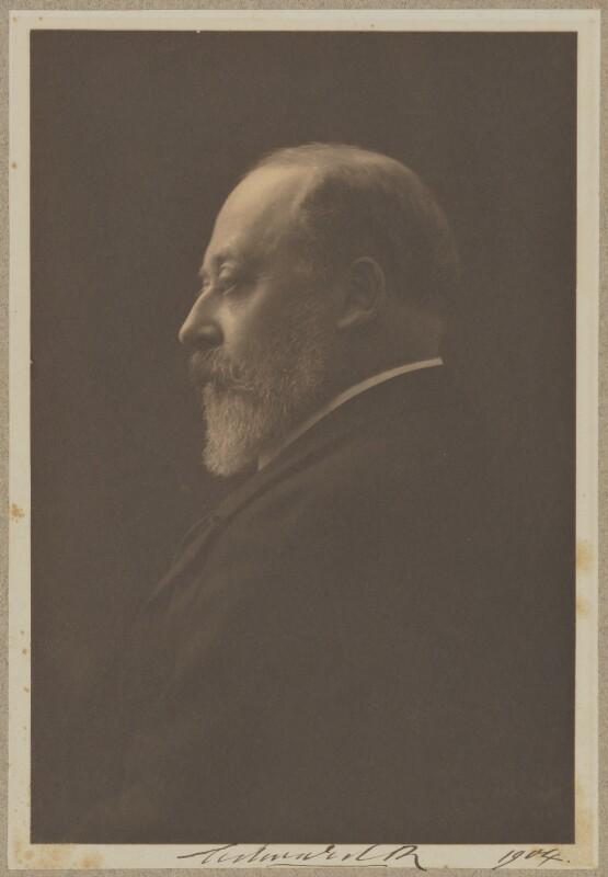 King Edward VII, by Baron Adolph de Meyer, 1904 - NPG P720 - © National Portrait Gallery, London