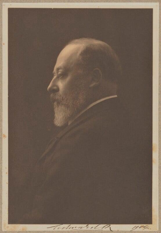 King Edward VII, by Baron Adolph de Meyer, 1904 - NPG P720 - © National Portrait Gallery, London