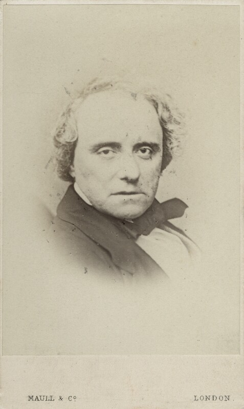 Charles John Kean, by Maull & Co, 1860s - NPG Ax17871 - © National Portrait Gallery, London