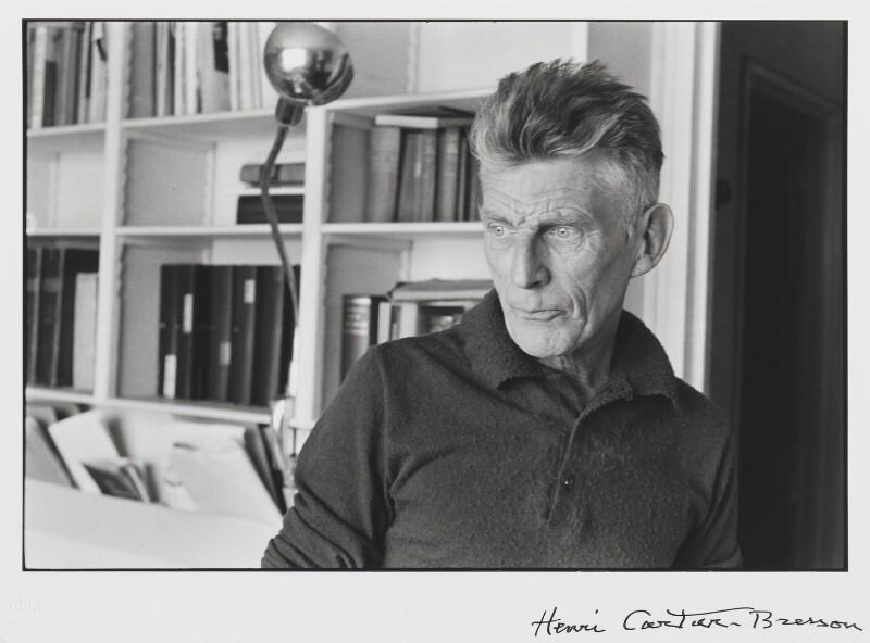 Samuel Beckett, by Henri Cartier-Bresson, 1964 - NPG P721 - © Henri Cartier-Bresson / Magnum Photos