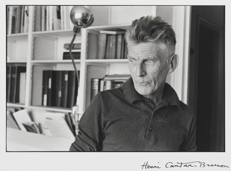Samuel Beckett - H. Cartier-Bresson