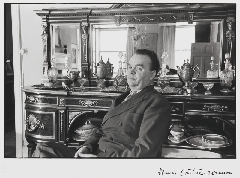 Cyril Connolly, by Henri Cartier-Bresson, 1939 - NPG P722 - © Henri Cartier-Bresson / Magnum Photos