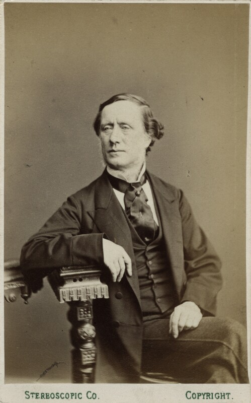 Sir William Sterndale Bennett, by London Stereoscopic & Photographic Company, 1860s - NPG Ax17876 - © National Portrait Gallery, London