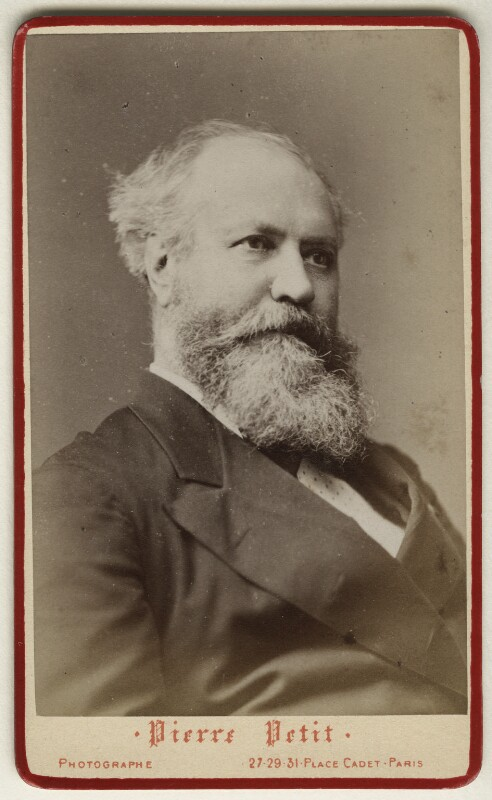 Charles François Gounod, by Pierre Petit, 1880s - NPG Ax17878 - © National Portrait Gallery, London