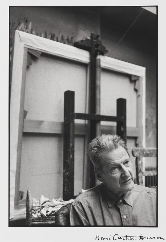 Lucian Freud, by Henri Cartier-Bresson, 1997 - NPG P724 - © Henri Cartier-Bresson / Magnum Photos