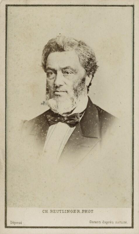 (Gabriel Claude) Jules Favre, by Charles Reutlinger, 1860s - NPG Ax17885 - © National Portrait Gallery, London
