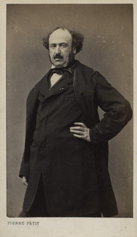 Jules François Simon, by Pierre Petit, 1860s - NPG Ax17888 - © National Portrait Gallery, London