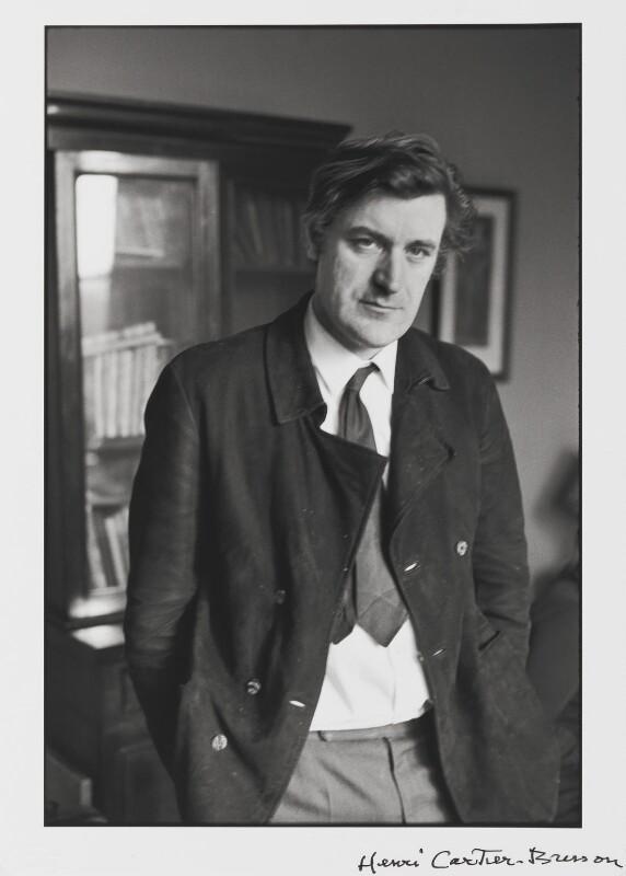 Ted Hughes, by Henri Cartier-Bresson, 1971 - NPG P726 - © Henri Cartier-Bresson / Magnum Photos