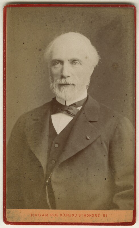 Charles Louis de Saulces de Freycinet, by Nadar, late 1870s - NPG Ax17901 - © National Portrait Gallery, London