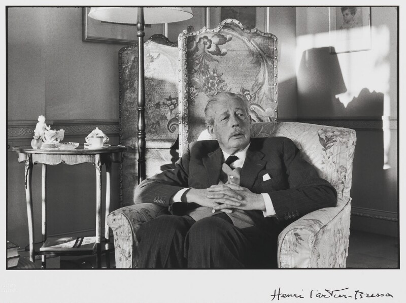 Harold Macmillan, 1st Earl of Stockton, by Henri Cartier-Bresson, 1967 - NPG P728 - © Henri Cartier-Bresson / Magnum Photos